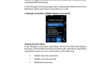 BlackBerry Storm User Guide - Image 17 of 17