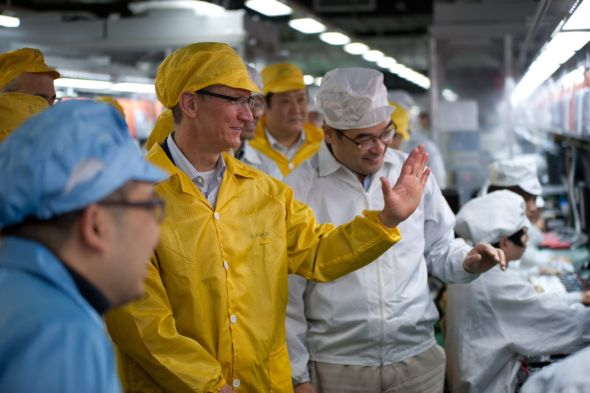 Apple iPhone iPad Manufacturing