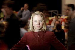 Yahoo CEO Mayer Praise