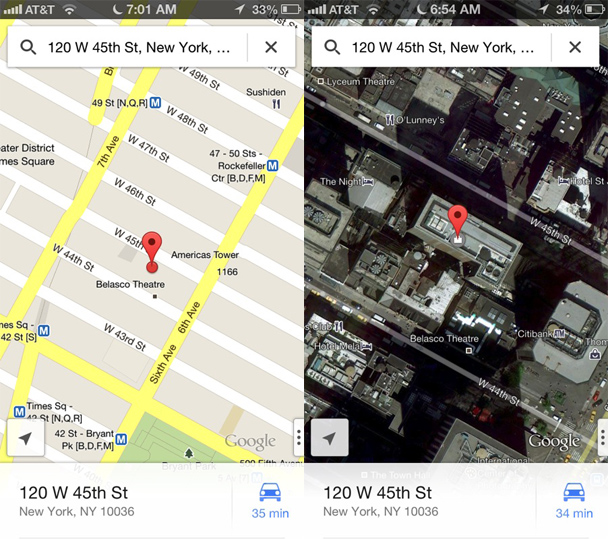 Google Maps iOS 6 Adoption