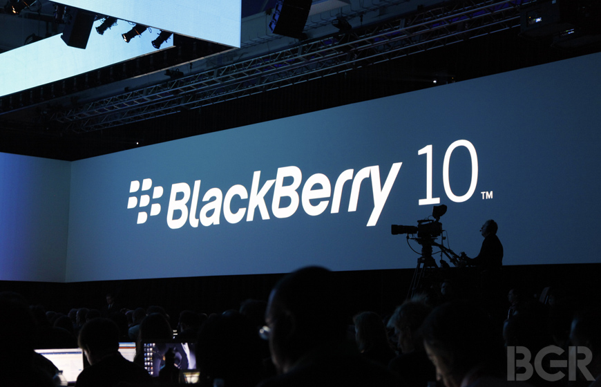 BlackBerry R10 Release Date