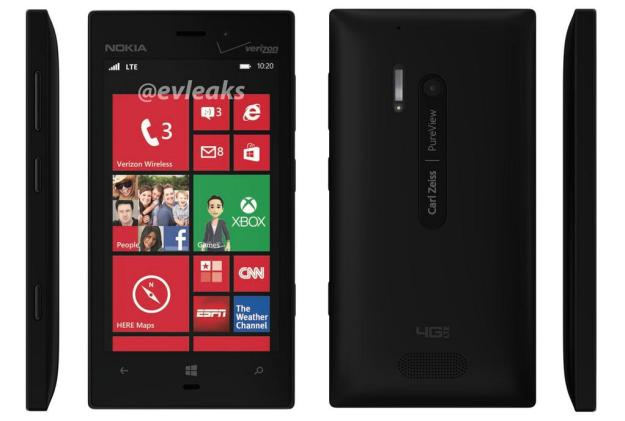 Nokia Lumia 928 with PureView camera pictured in leaked images