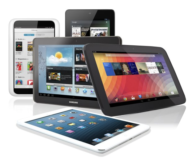 Tablet Shipments 2013