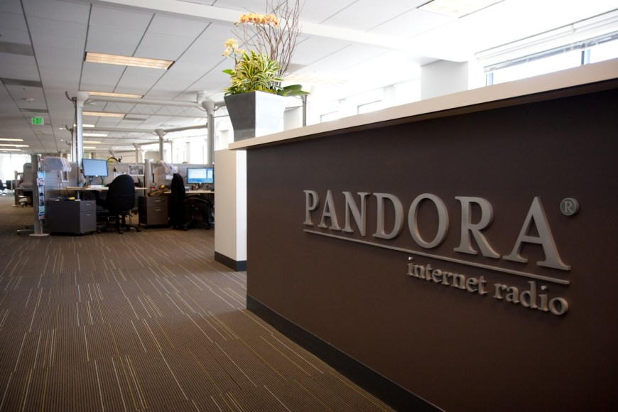 Pandora Listener Growth iTunes Radio