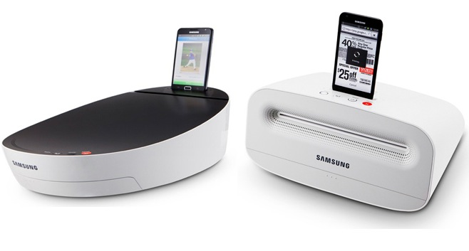 Samsung Printer Stereo Smartphone Dock