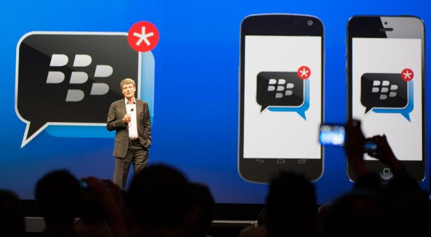 BlackBerry BBM Channels App Update