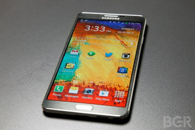 Samsung 4K Smartphone Display