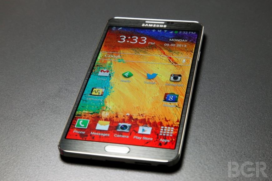 Samsung Galaxy Note 3 Lite 720p Display