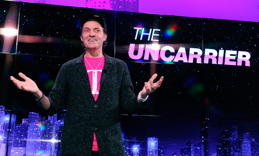 T-Mobile CES Press Conference