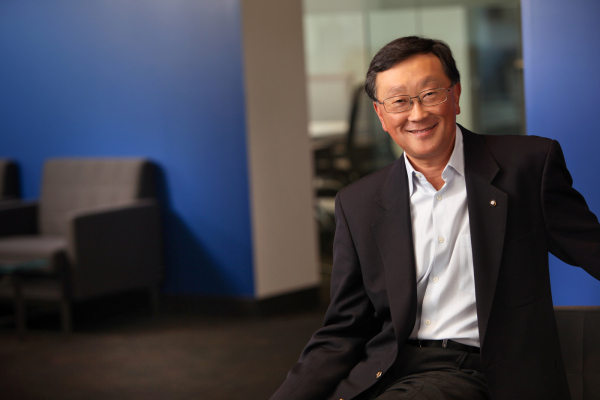 BlackBerry CEO Chen Interim
