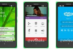 Nokia Android Leaked Pictures