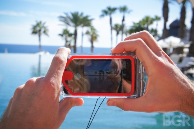 Optrix PhotoX waterproof iPhone case