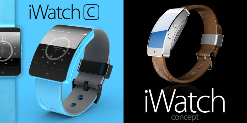Apple iWatch Concept Renders
