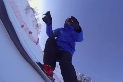 Olympics Downhill Skiing Video