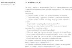 OS X 10.9.2 Update  SSL Security Flaw