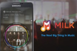Samsung Milk Music Radio Service
