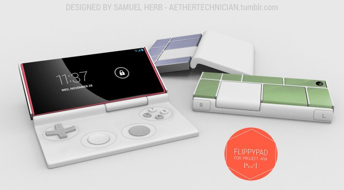 Project Ara Flippypad Game Controller