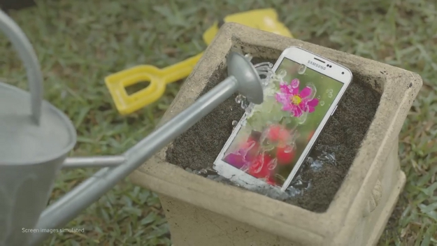 Galaxy S5 Water and Dust Resistant Video