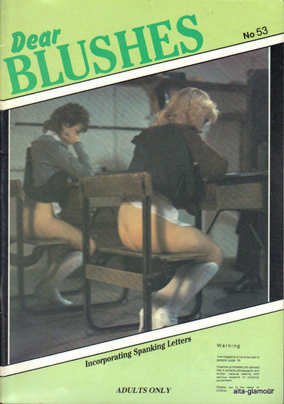retro spanking magazines