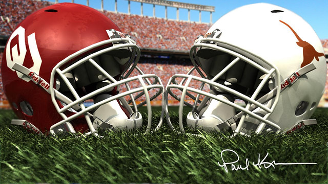 Red River Rivalry (Texas vs Oklahoma) | The Red River Rivalr… | Flickr