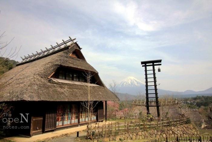 Saiko Iyashi No Sato Nenba, The Healing Village around Mt Fuji