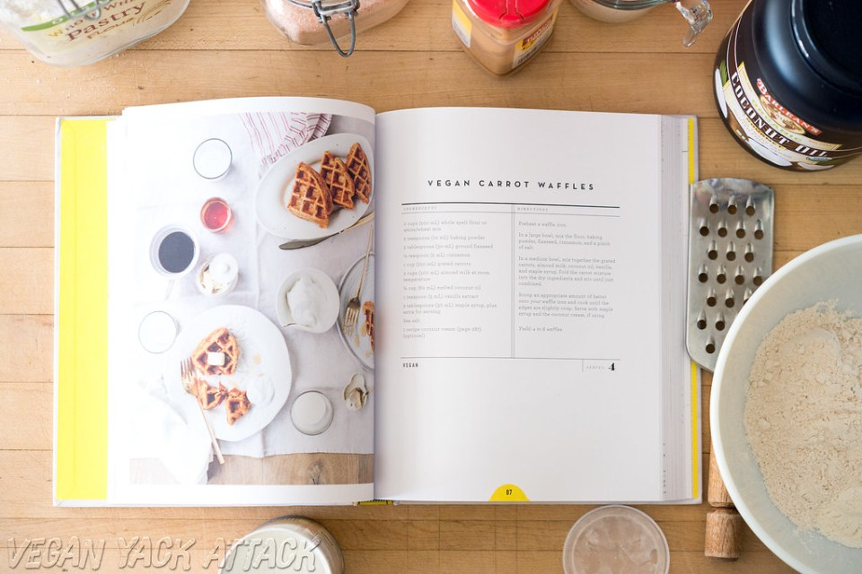Vegan Carrot Waffles from The Love & Lemons Cookbook- Quick, easy and a crowd-pleaser!