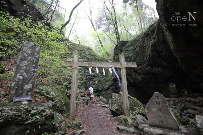 Ayashiro-no-take waterfall, Mt. Mitake