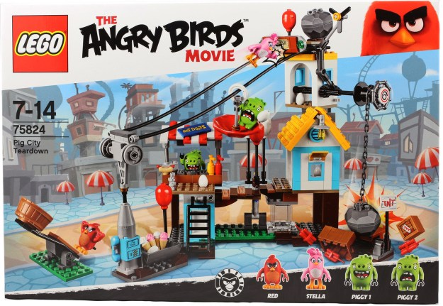 Box F Angry Birds