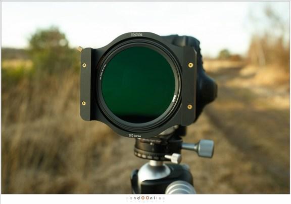 Het polarisatiefilter van Haida: de PRO II C-pol voor het 100mm filtersysteem.