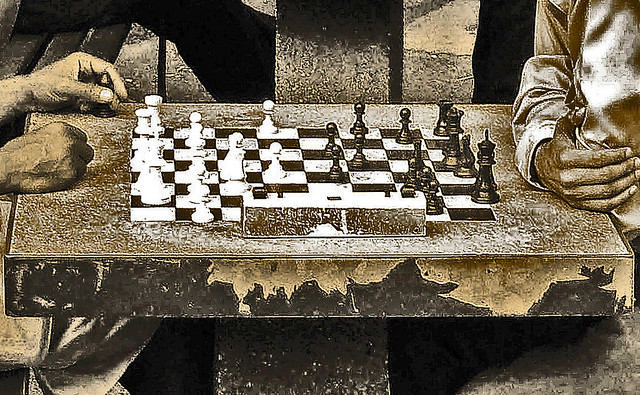 Tony Fischer Chess in Washington Square Park (Flickr)