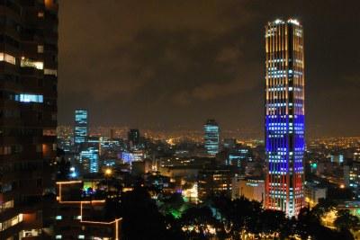Torre Colpatria & South of Bogota | Taken from Torres del Pa… | Flickr