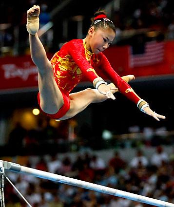 college gymnastics girls close ups