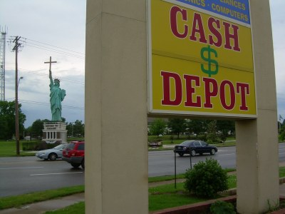 Cash Depot for Christ | need I say more??...... Roadside Ame… | Flickr