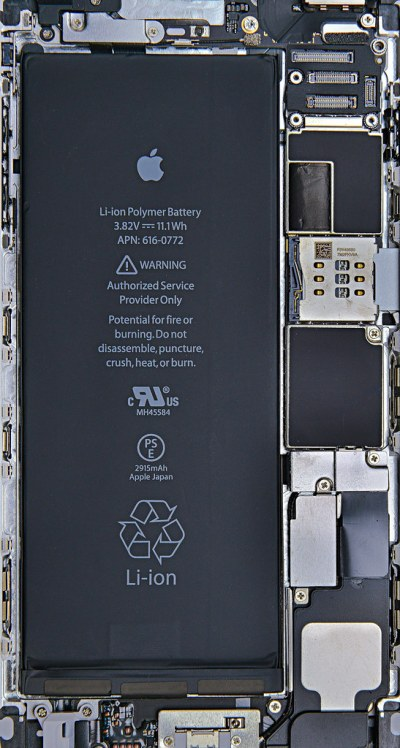 iPhone6 Plus Silver Internals Wallpaper | iphone6 iphone6plu… | Flickr