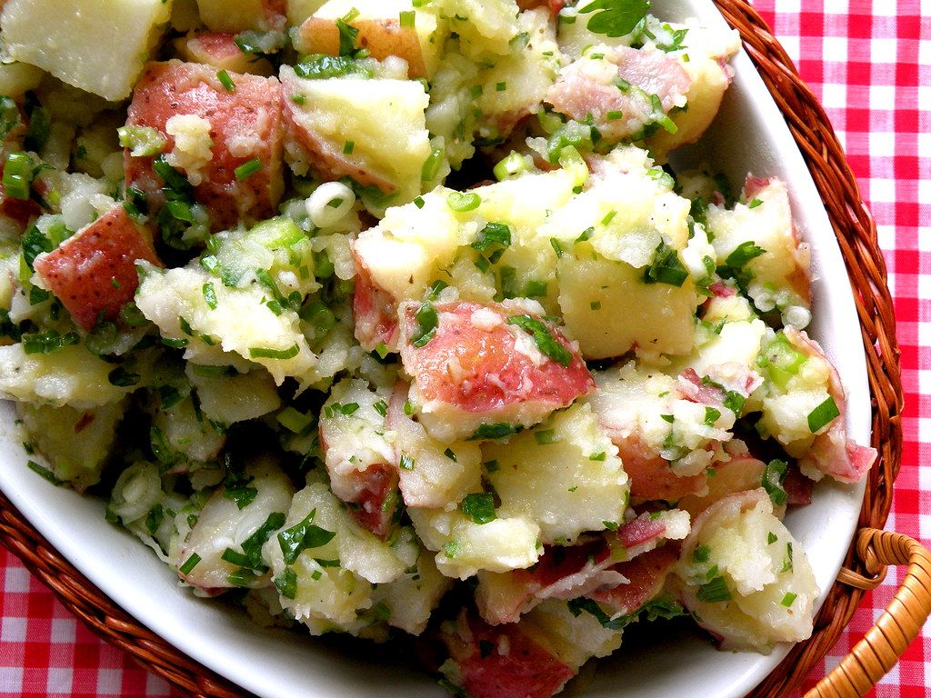 Excellent Potato Salad Recipesbnb Greek Potato Salad Dill Greek Potato Salad Today Show Fields Secrets Potato Salad Tiffanywbwg Flickr Greek Salad nice food Greek Potato Salad
