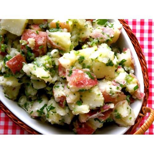 Medium Crop Of Greek Potato Salad