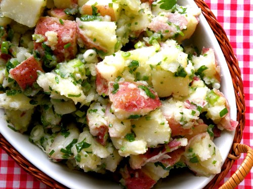 Medium Of Greek Potato Salad