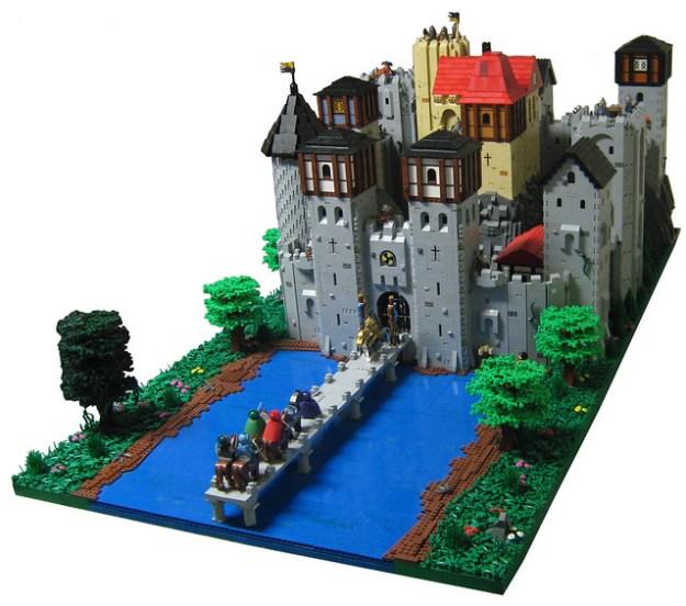 Dawn Lake Castle