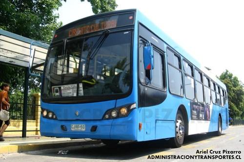 Transantiago - Inversiones Alsacia - Caio Mondego L / Volvo (CJRF50)