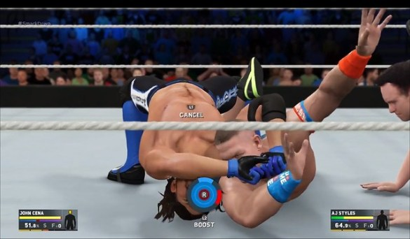 WWE 2K17 Submission