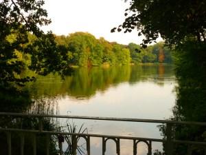 Machern, See, Schloss