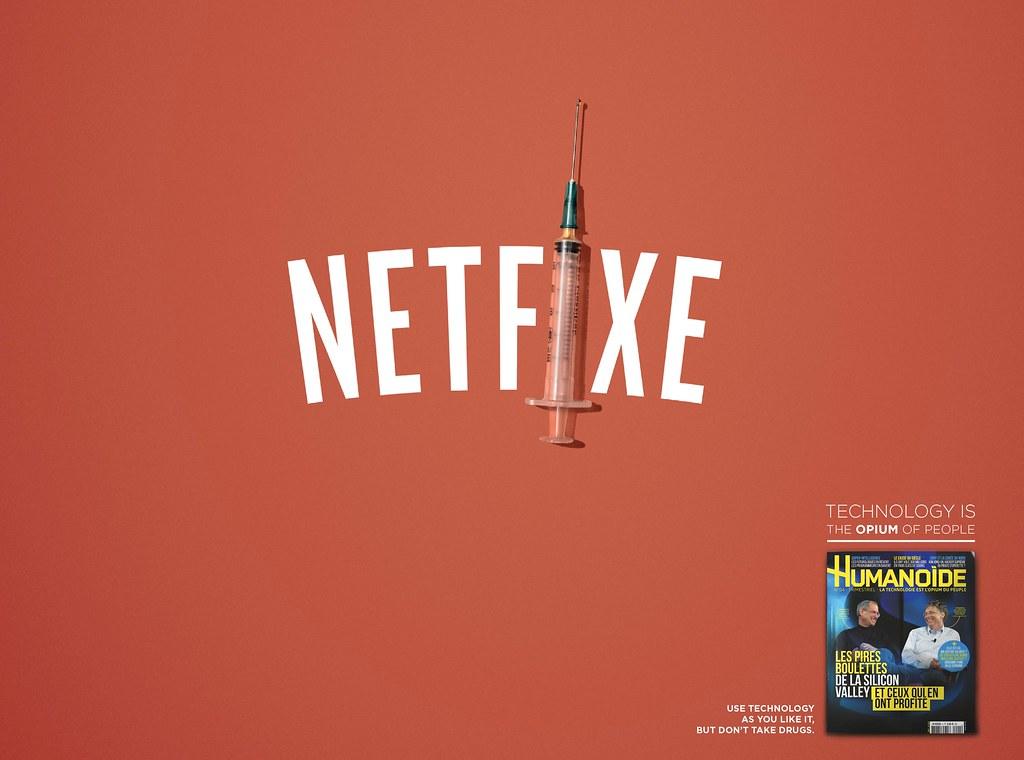 Humanoide - Technology is the opium of people Netflix