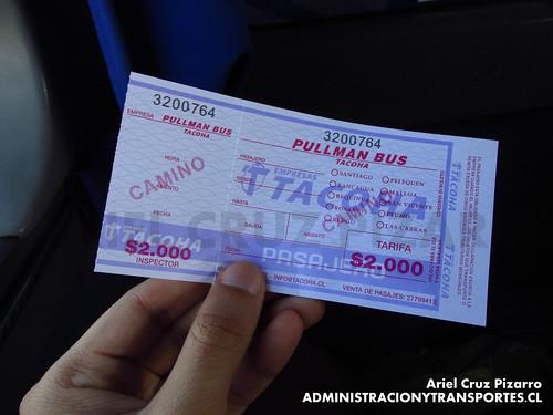 Pasaje - Tacoha - CCHP32