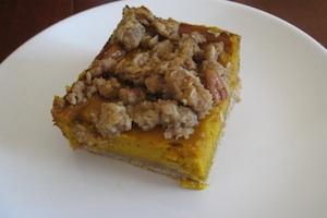kabocha pie bars combine the best of pumpkin and pecan pies