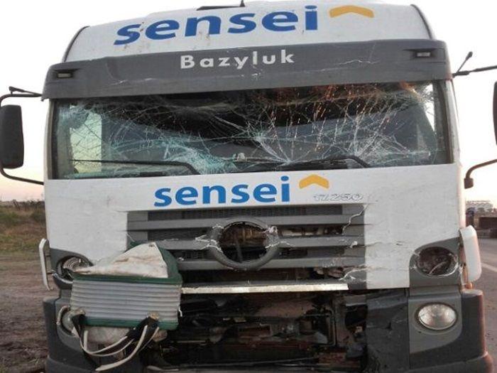 accidente camiones