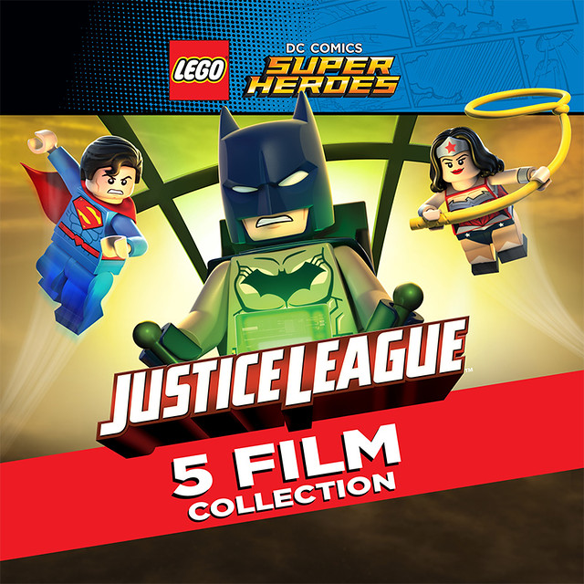 LEGO DC Super Heroes Justice League 5-Film Collection