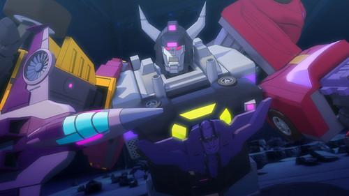 Cartoon Transformers Combiner Wars