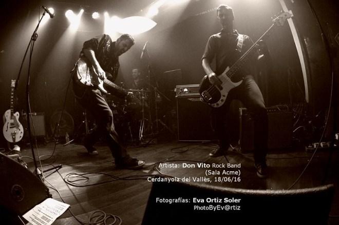 DON VITO ROCK BAND - SALA ACME - CERDANYOLA, 18/06/16