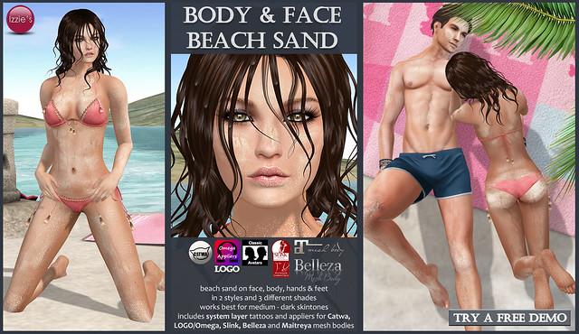 Body & Face Beach Sand