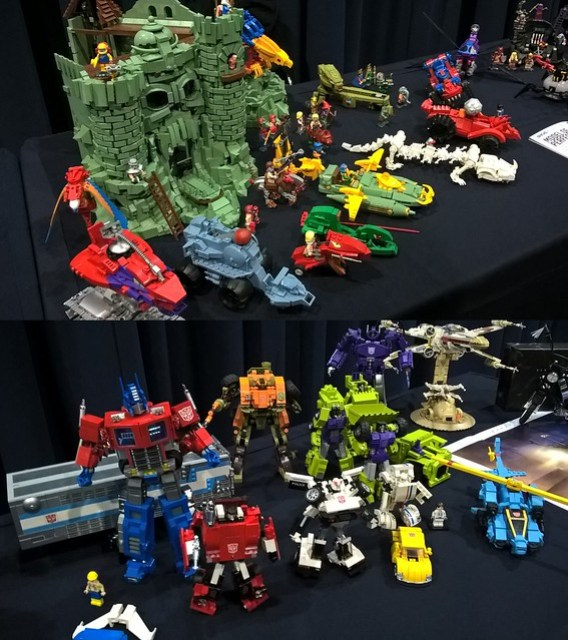 Bricktastic 2016 - Orion Pax display